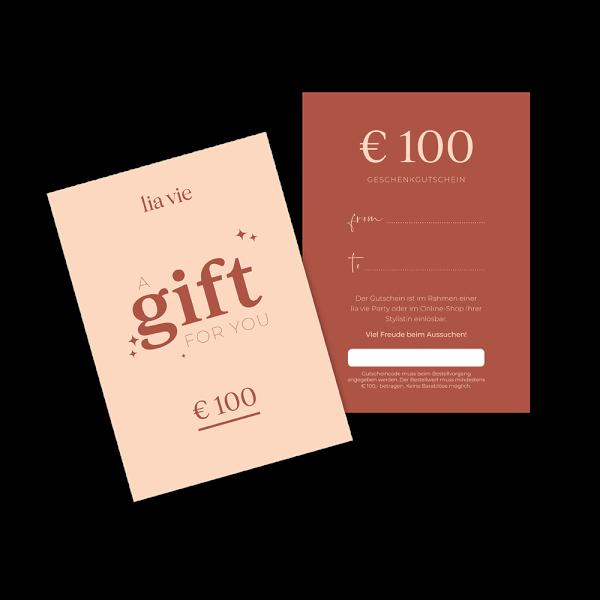 € 100,- Kaufgutschein